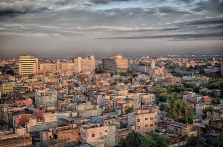 Indore skyline | © John Hoey/Flickr