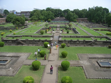 Garden in Shaniwar Wada, Pune | © Kuruman/Flickr