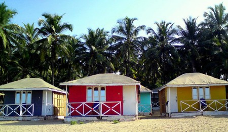 Colourful houses in Goa | © Aniket Thakur / Flickr