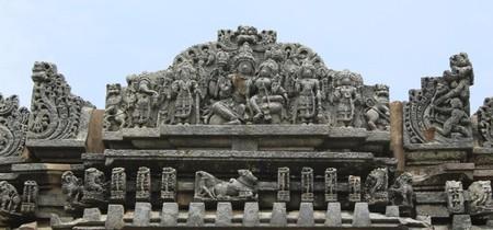 Temple details   © Abhinav Alva