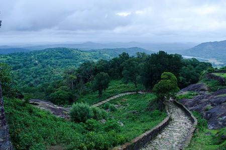 Panoramic view of Kavaledurga Fort   © Yashhegde / Wikimedia Commons