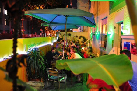 Hostel patio | Courtesy of Lemon Spirit Hostel