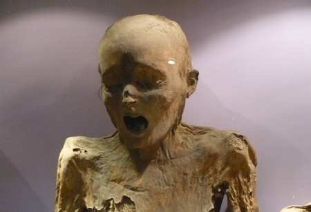 A mummy at the Mummy Museum | © César Landeros Soriano / WikiCommons