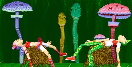 'A Mushroom Trip'   © Olga Kusa
