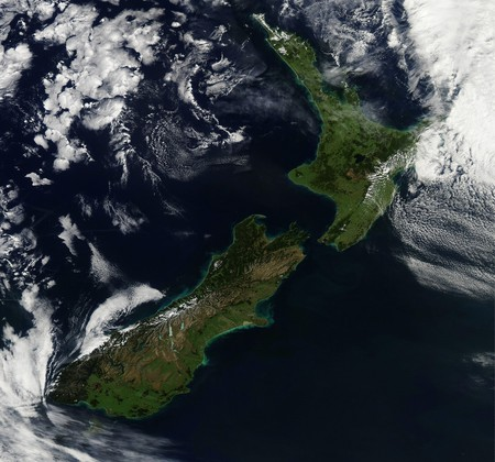 New Zealand | © NASA Goddard Space Flight Center/Flickr