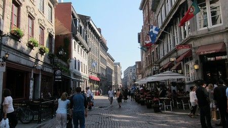 Exploring Old Montreal