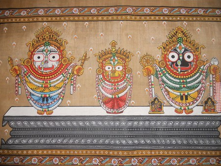 Pattachitra in Odisha | © Chinmayee Mishra / Wikimedia Commons