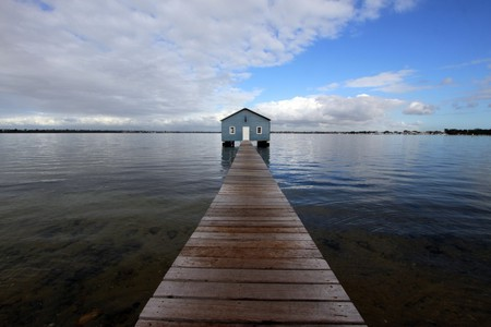 Perth's Blue Boat House | © Pixabay