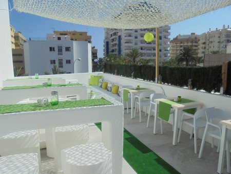 The roof terrace at Hostal Tak | Courtesy of Hostal Tak