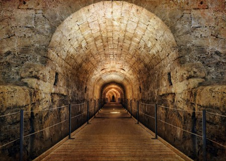 The Templars' Tunnel in the Old City of Akko (Acre) | © Protasov AN / Shutterstock