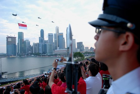 National Day in Singapore