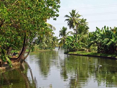The quiet backwaters of Kerala | © McKay Savage/Flickr