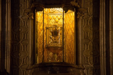 The Holy Grail is housed inside Valencia Cathedral