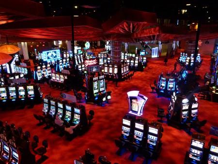 The casino floor