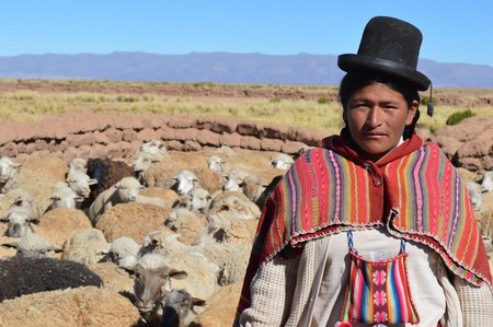 Rural Bolivian woman | © European Commission DG ECHO / Flickr