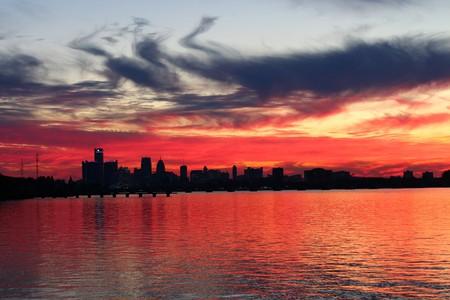 Detroit sunset   © Jeff Dunn/Flickr