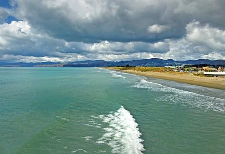 New Brighton Beach, Christchurch, New Zealand | © Bernard Spragg/Flickr