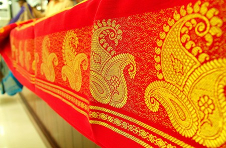 Mysore silk saree | © Kiranravikumar/WikiCommons
