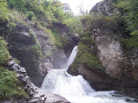 The Reichenbach Falls   © Andrew Bowden/ Flickr
