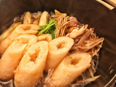 Akita's local specialty, <em>kirtanpo nabe</em>   © Tak H. / Flickr