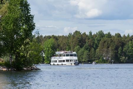 Cruise ship arriving in Kuopio | © Visit Lakeland / Flickr