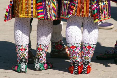 Bulgarian folk costumes | © Donald Judge/Flickr