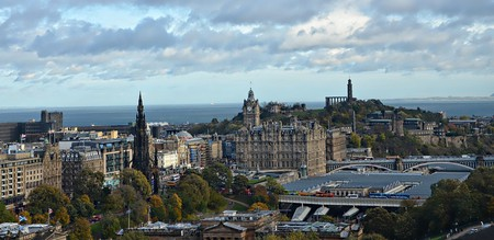 Edinburgh From the Castle | © Dun.can / Flickr