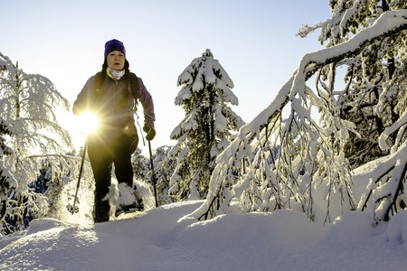 Snowshoeing in Finland   © Visit Lakeland / Flickr