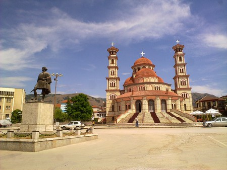 The Orthodox Cathedral of Korça