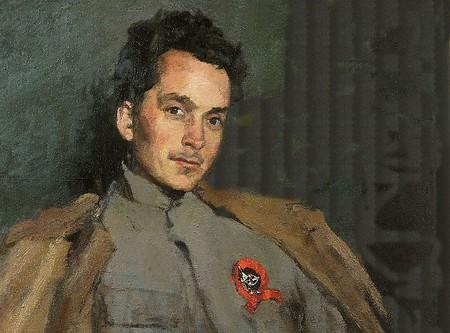 Sergey Malyutin, 'Portrait of Dmitry Furmanov', 1922   © WikiCommons