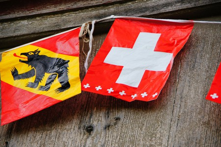 Bern's flag proudly features a bear | © Martin Abegglen/ Flickr