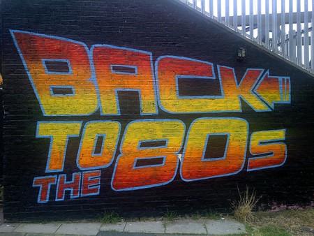 Back To The 80s artwork by street artists Graffiti Life in Brick Lane © Bablu Miah/Flickr