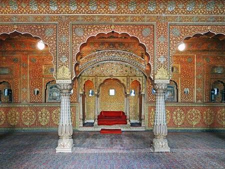 Anup Mahal in Junagarh Fort   © Jean-Pierre Dalbéra / Wikimedia Commons