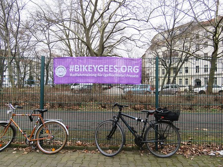 Bikeygees, the NGO teaching women to cycle | © Alice Dundon