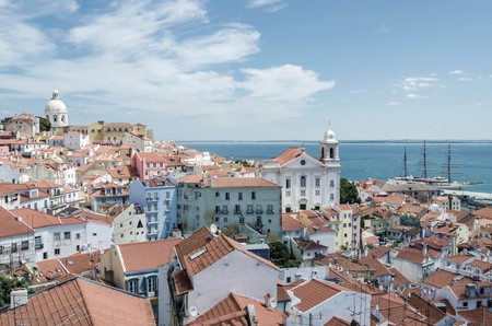 Old Town of Lisbon, Portugal