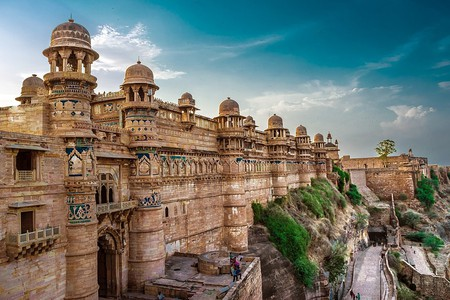 Gwalior Fort | © Anuppyr007/Wiki Commons