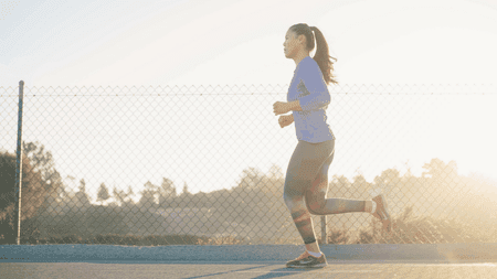 Low-cost fitness options, such as jogging, are extremely popular   © Andrew Tanglao / Unsplash