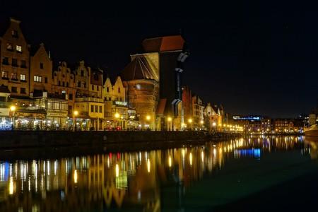Gdańsk by night   © clariston / Pixabay