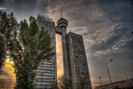 The Genex Tower is one of New Belgrade's strangest buildings