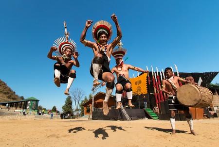Zeliang Naga Tribesmen of Nagaland, India   © Vikramjit Kakati / WikiCommons