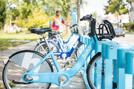 Bublr Bikes Milwaukee | Courtesy of Bublr Bikes