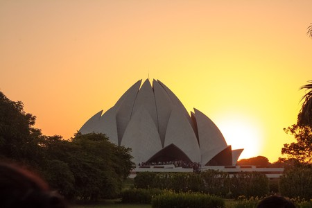 Lotus Temple, New Delhi | © zeeshan91 / Pixabay