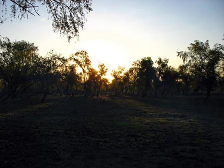 Sunset in Santa Fe, Argentina