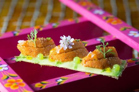 Sea urchin and avocado Courtesy of Hoja Santa