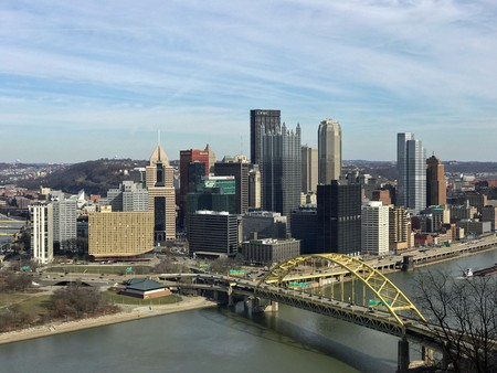 Pittsburgh skyline from Mount Washington | Photo by David Kindervater