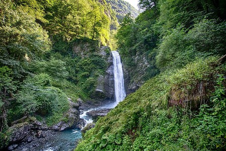 Ninoskhevi waterfall   © Paata Vardanashvili / WikiCommons