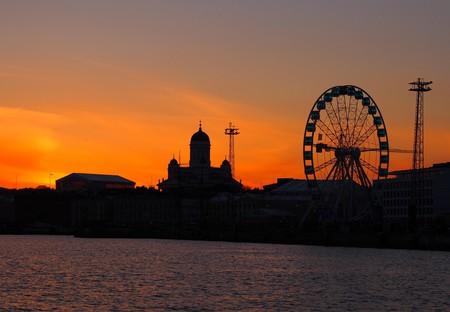 Helsinki at sunset | © Tiina Kaarela / Pexels