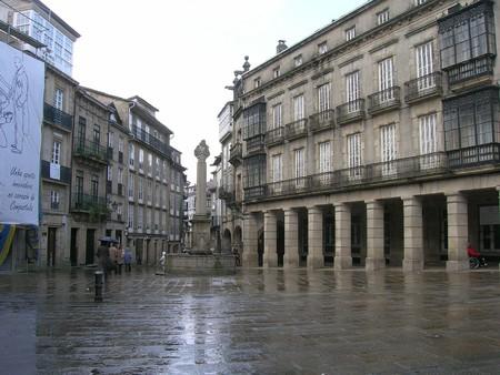 A rainy day in Santiago de Compostela   © José Antonio Gil Martínez / Flickr