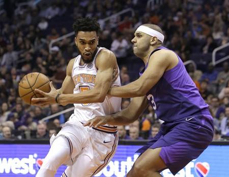New York Knicks guard Courtney Lee | © Rick Scuteri/AP/REX/Shutterstock