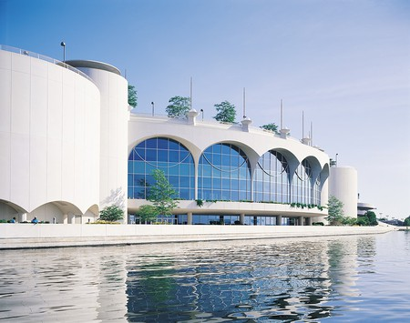 Monona Terrace from the lake | Courtesy of Monona Terrace Community and Convention Center